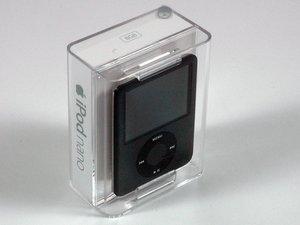iPod nano 第三世代の分解