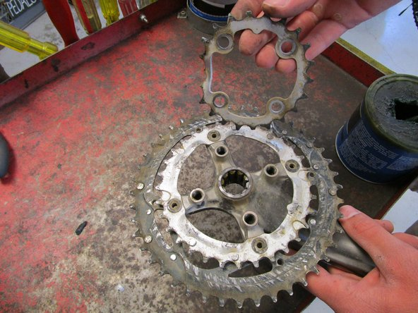 2006 Iron Horse Warrior Chainring Replacement
