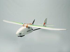 3DRobotics Aero-M Flying a Mission