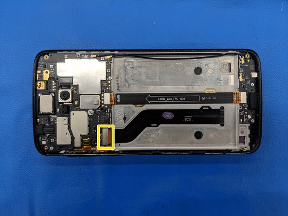 Moto E5 Plus Screen Only Replacement