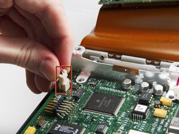 Image 1/1: Remove DLP Power Cable.