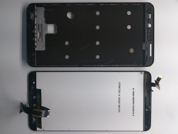 Remove LCD assembly from phone