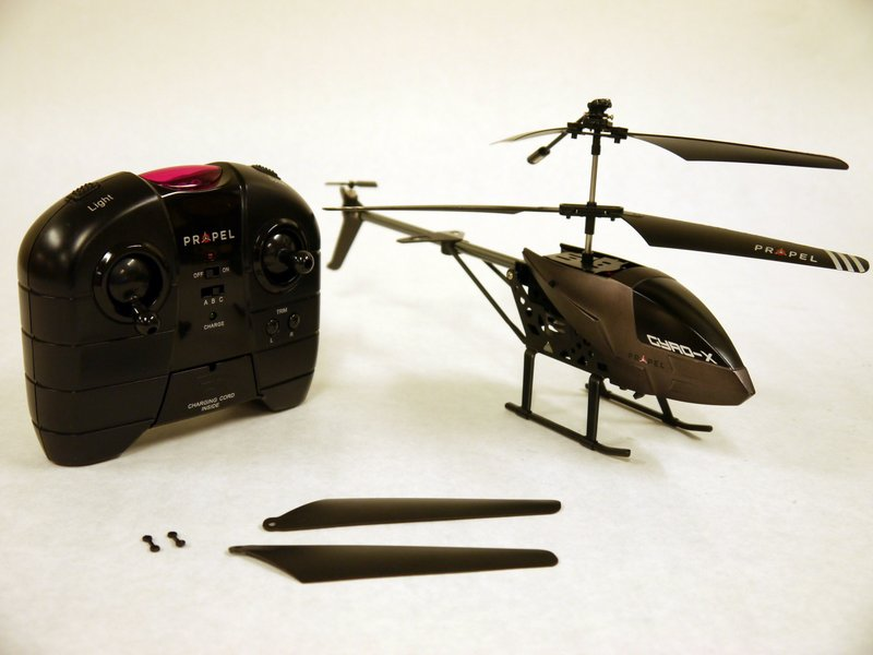 Why doesn't my gyro copter fly straight? - Propel Gyro-X