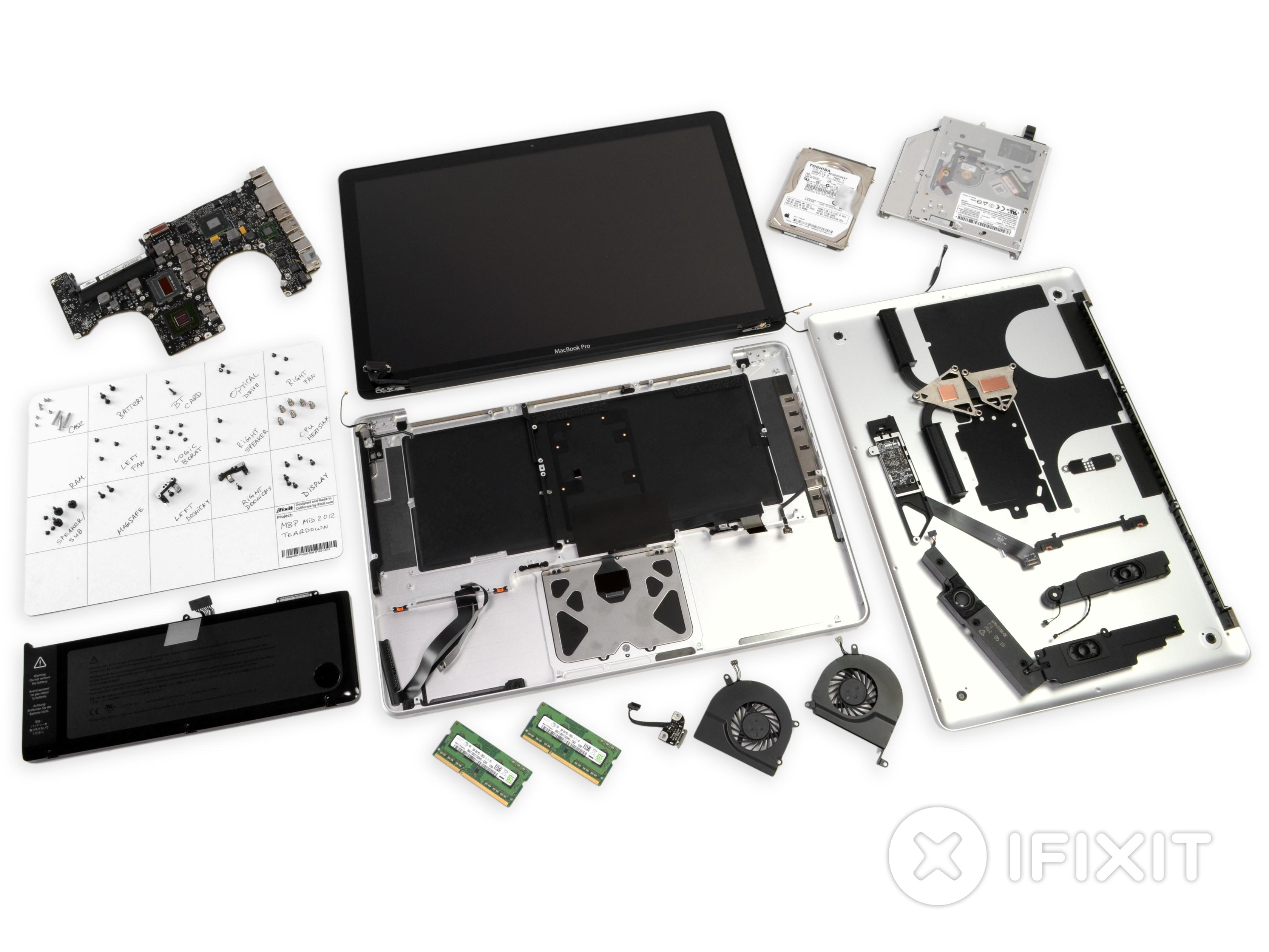 macbook pro 15 unibody mid 2012 teardown ifixit rh ifixit com MacBook Pro Mid-2012 Ports MacBook Pro 15 Mid-2012