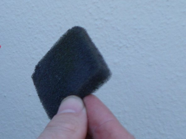 Image 1/1: It is good practice to inspect your air filter for tears or other defects.  If defects are found it is best to replace the air filter rather than to clean it.