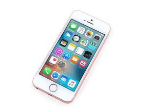 iPhone SEのトラブルシュート