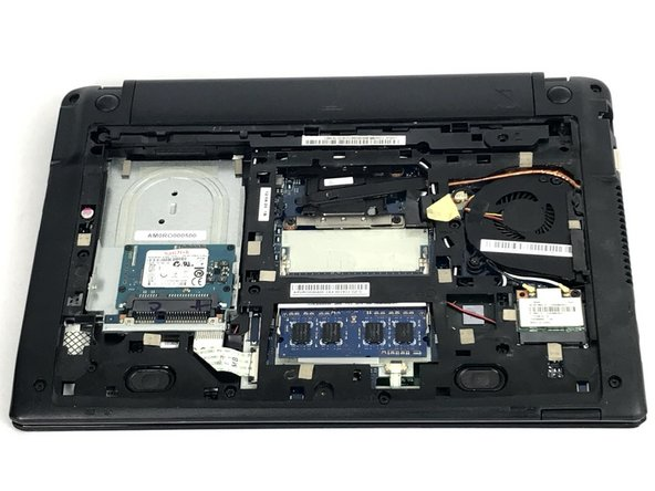 Acer Chromebook C710-2833 Hard Drive Replacement