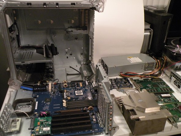 The Powermac G4 MDD's, Guts Spilled On My Desk: