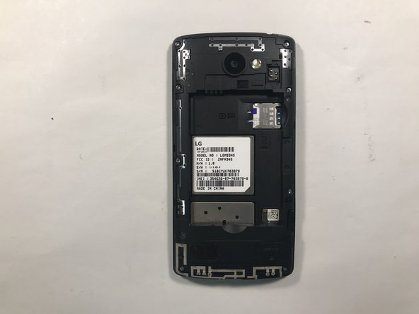 Once the back is removed, you will have access to the battery. Remove the battery and insert a replacement.