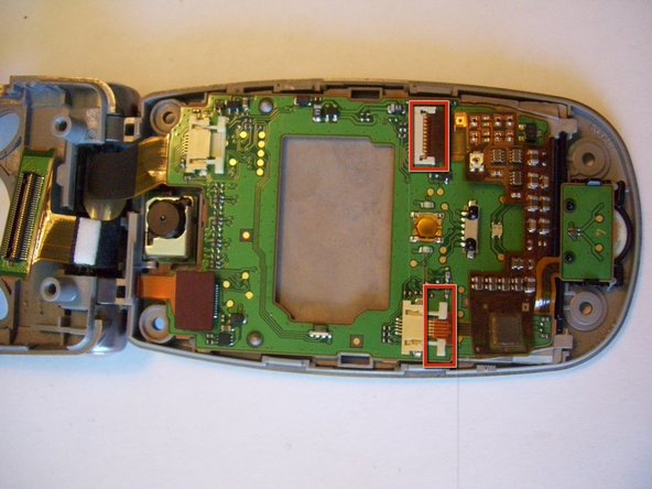 Disassembling Panasonic GU87 LCD main board