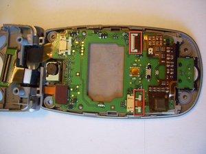 Démontage de la carte principale du LCD du Panasonic GU87