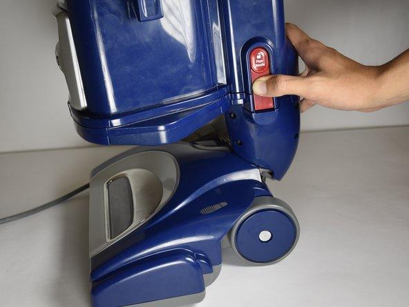 Shark Navigator Lift-Away Deluxe NV360 Power Button Replacement