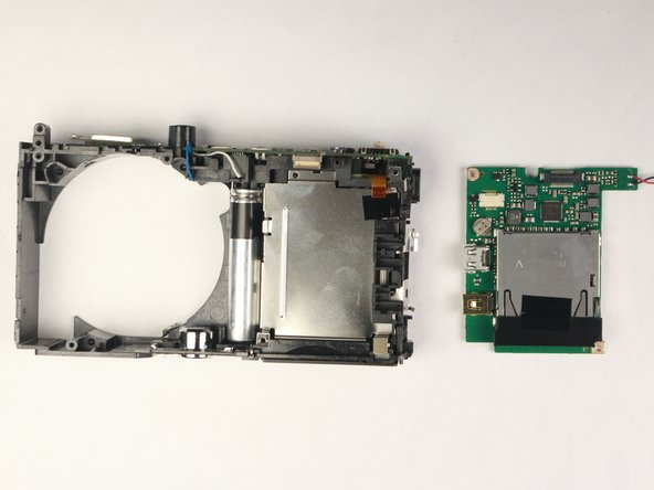 Panasonic Lumix DMC-ZS35 Motherboard Replacement