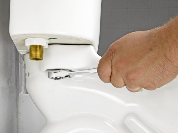 Avoid over-tightening the tank bolts. Too much force can easily crack the toilet tank or toilet bowl.