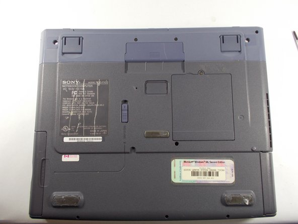 Sony VAIO PCG-F420 Floppy Drive Replacement