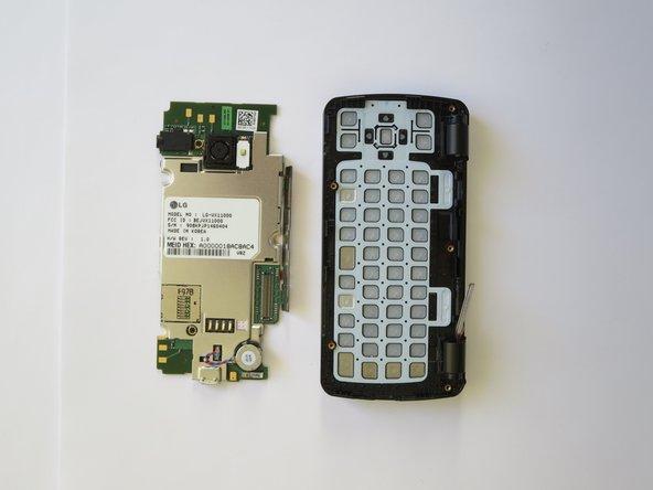 Remplacement de la carte mère du LG EnV Touch VX11000