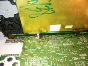 Re-installing the motherboard of the  3DS XL