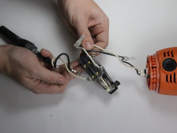 Ridgid Angle Grinder R10202 Wiring Assembly Replacement