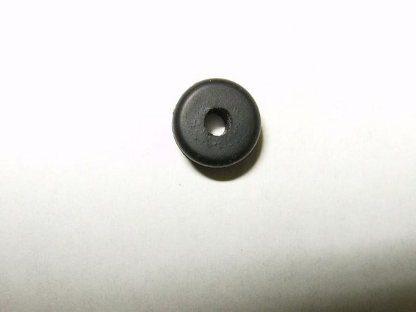 Removed rubber grommet.