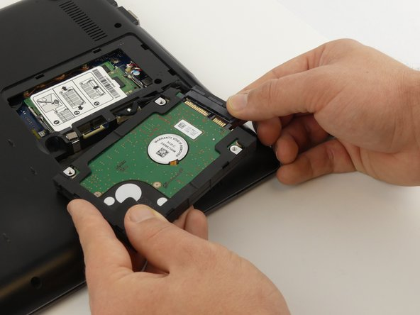 Samsung NP-QX411L Hard Drive Replacement