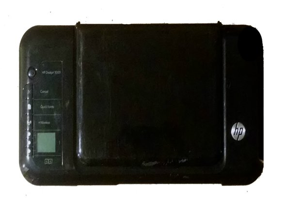 HP Deskjet 3000 j310a Repair Control Panel Replacement