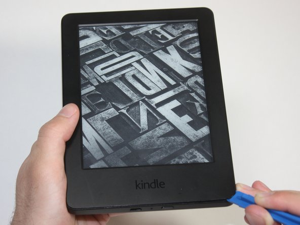 Power off your Kindle before beginning disassembly.