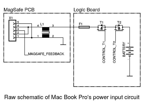 macbook pro 15 logic board s power input circuit repai ifixit rh ifixit com macbook pro diagram ports macbook pro 15 parts diagram
