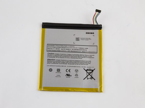 Image 3/3: Please follow all U.S. regulations and laws when disposing or recycling the battery.