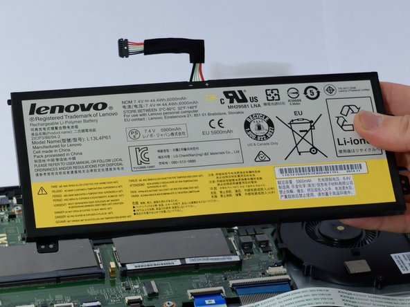 Lenovo Edge 15 Battery Replacement