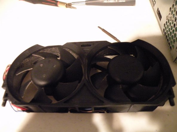 Image 1/2: Here are pictures of the fans and power connector.