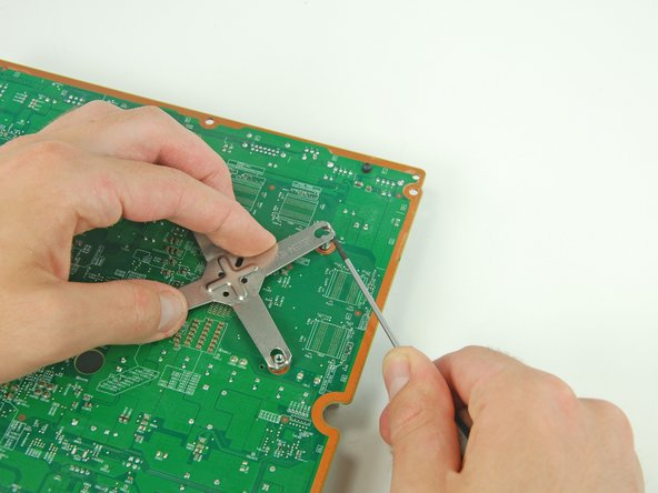 To avoid ESD damage, be sure to lay your logic board on a soft, static free surface during service.