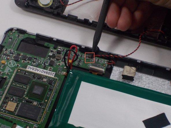 Desolder 2 speaker wires