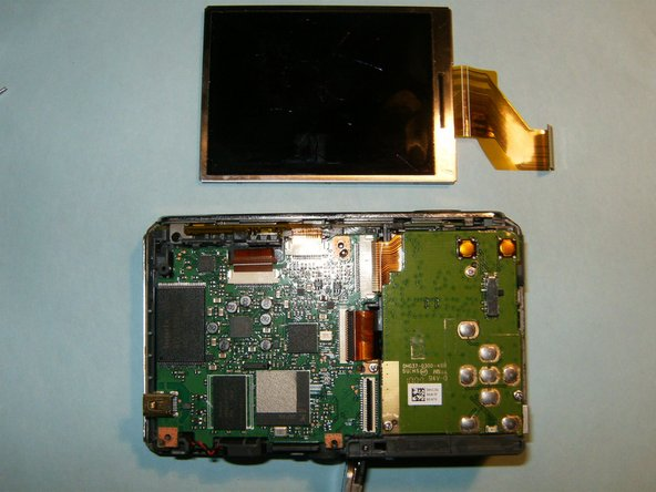 Remove the LCD