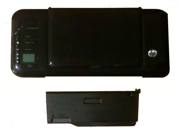 HP Deskjet 3000 j310a Repair Printer Cover Replacement