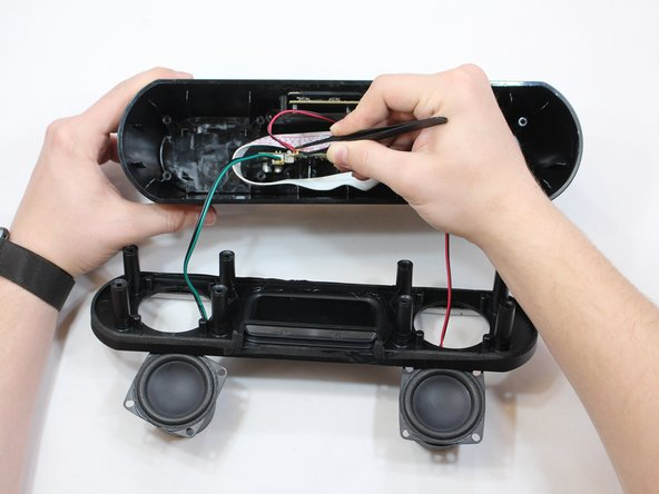 Pull wires out of ports using blunt nose tweezers.