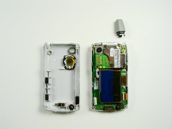 Image 2/2: '''Note:''' The antenna will detach from the phone.