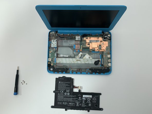 HP Stream 11-y010nr Battery Replacement