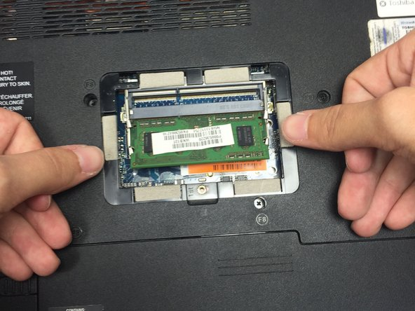 When the chip is released, it will pop up and stick out at a 45 degree angle from the computer.