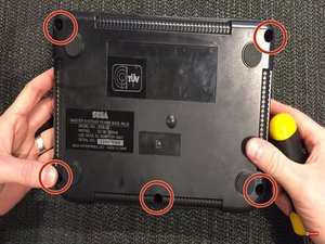 Sega Master System Model 2 Disassembly