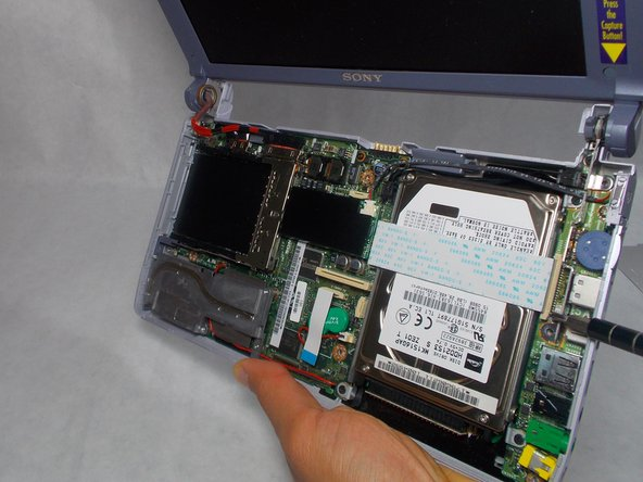 Sony Vaio PCG-161L Hard Drive Replacement