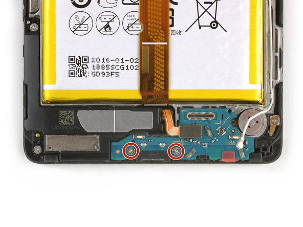 Huawei Mate 8 Charging Board Replacement