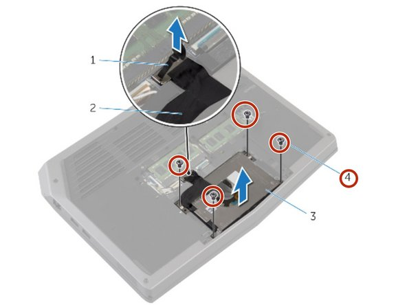 WARNING: Before working inside your computer, read the safety information that shipped with your computer and follow the steps in Before Working Inside Your Computer. After working inside your computer, follow the instructions in After Working Inside Your Computer.
