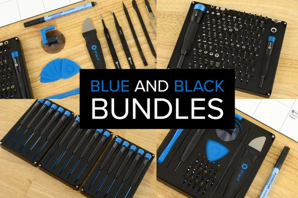 iFixit blue and black bundles for black friday