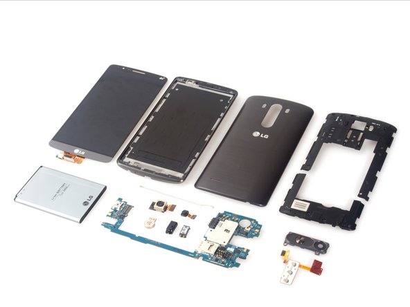 LG G3 teardown is done.
