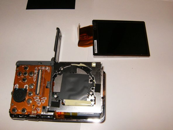 Remove the old LCD.