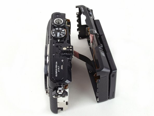 Olympus Pen E-PL7 Back Case Replacement