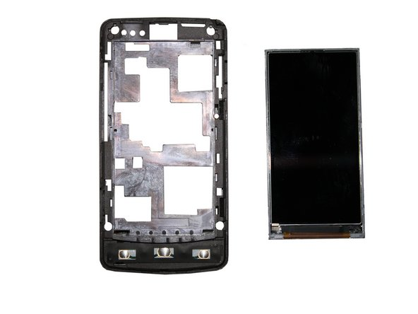 Simply lift the LCD screen from the logic board housing to remove the LCD screen.