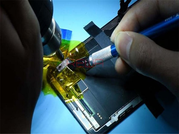 Let's replace with a new touch IC and see how it works.