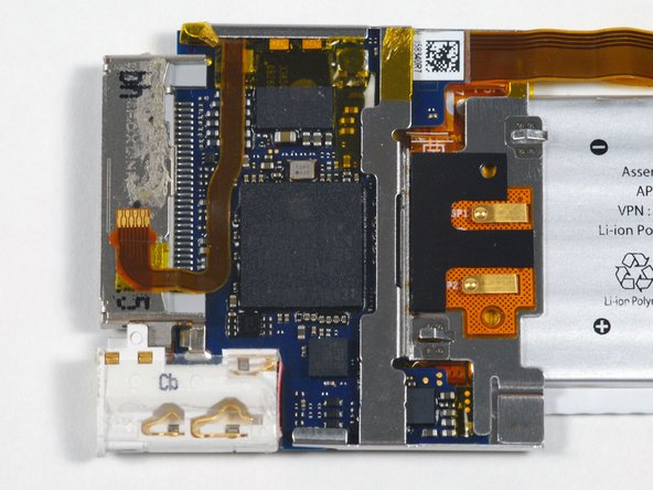 Image 1/1: The main processor appears to be an Apple-branded ARM processor manufactured by Samsung with DRAM on-package. Based on the date code, this processor was manufactured in early July of 2008.