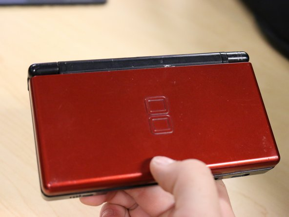 First things first, get out that old DS. Admire it in it's glory, because it's not going to look like that for long!